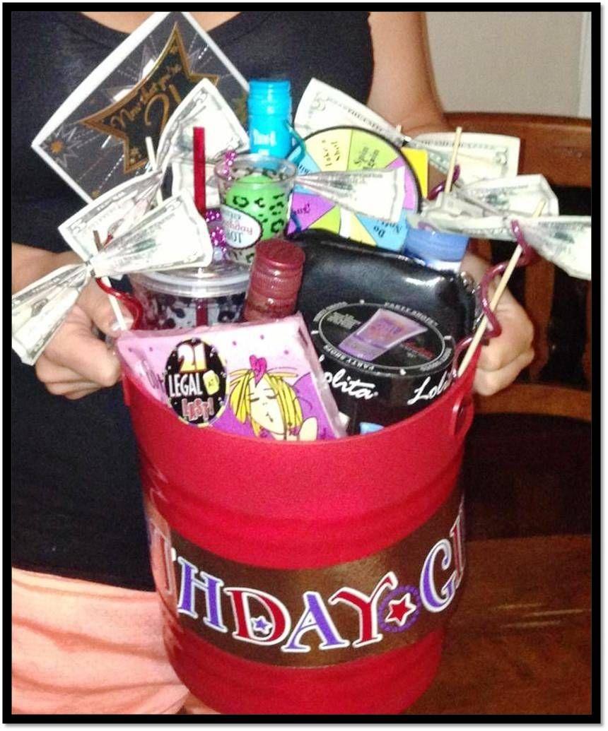 Epic 21st Birthday Gift Bucket #RSCWife