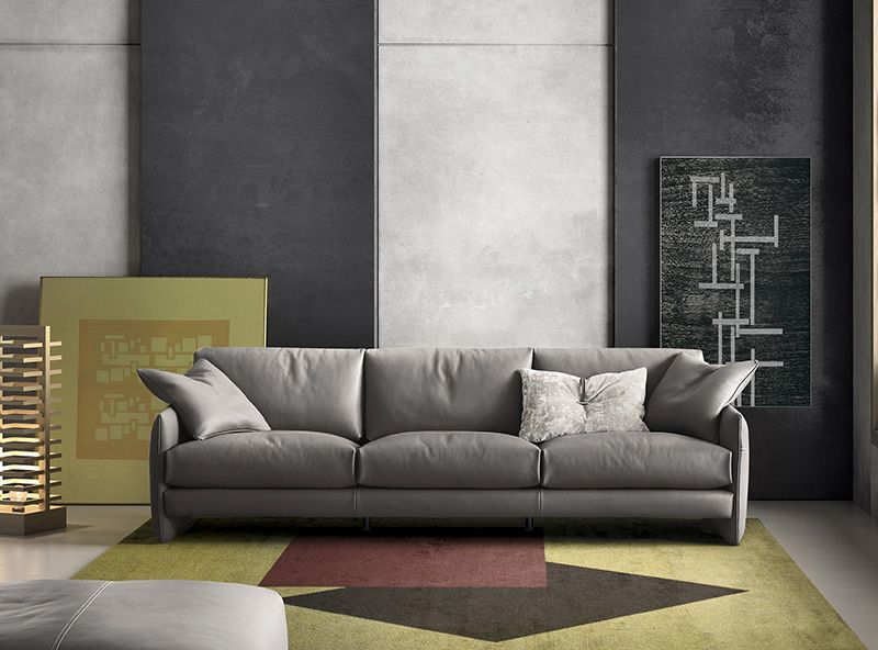 Gamma Mood Sofa Modern Leather Couch Modern Couch Living Room Design Modern
