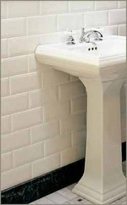 metrotegels badkamer | Bathroom Ideas | Pinterest | Decoration