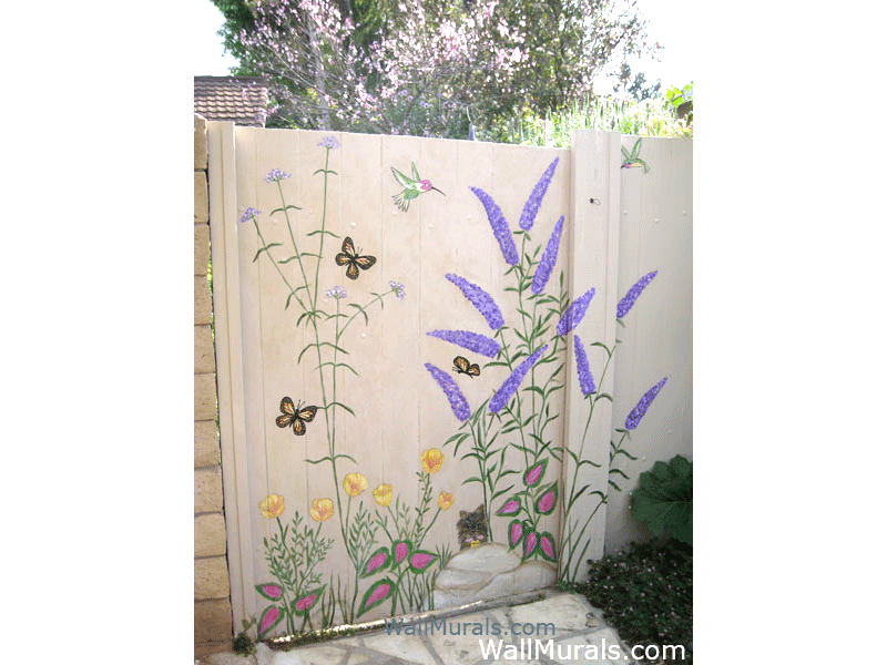 Delightful Gardens · Outside Wall Murals ...