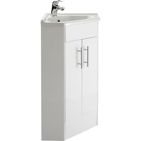 meuble lavabo dangle lave mains vtcw001 salle de bain