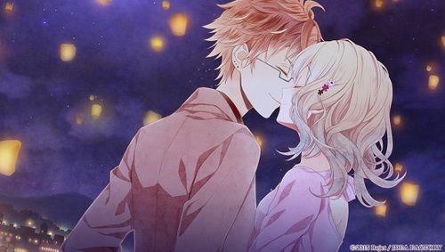 Imagen de anime, couple, and otome game   Diabolik