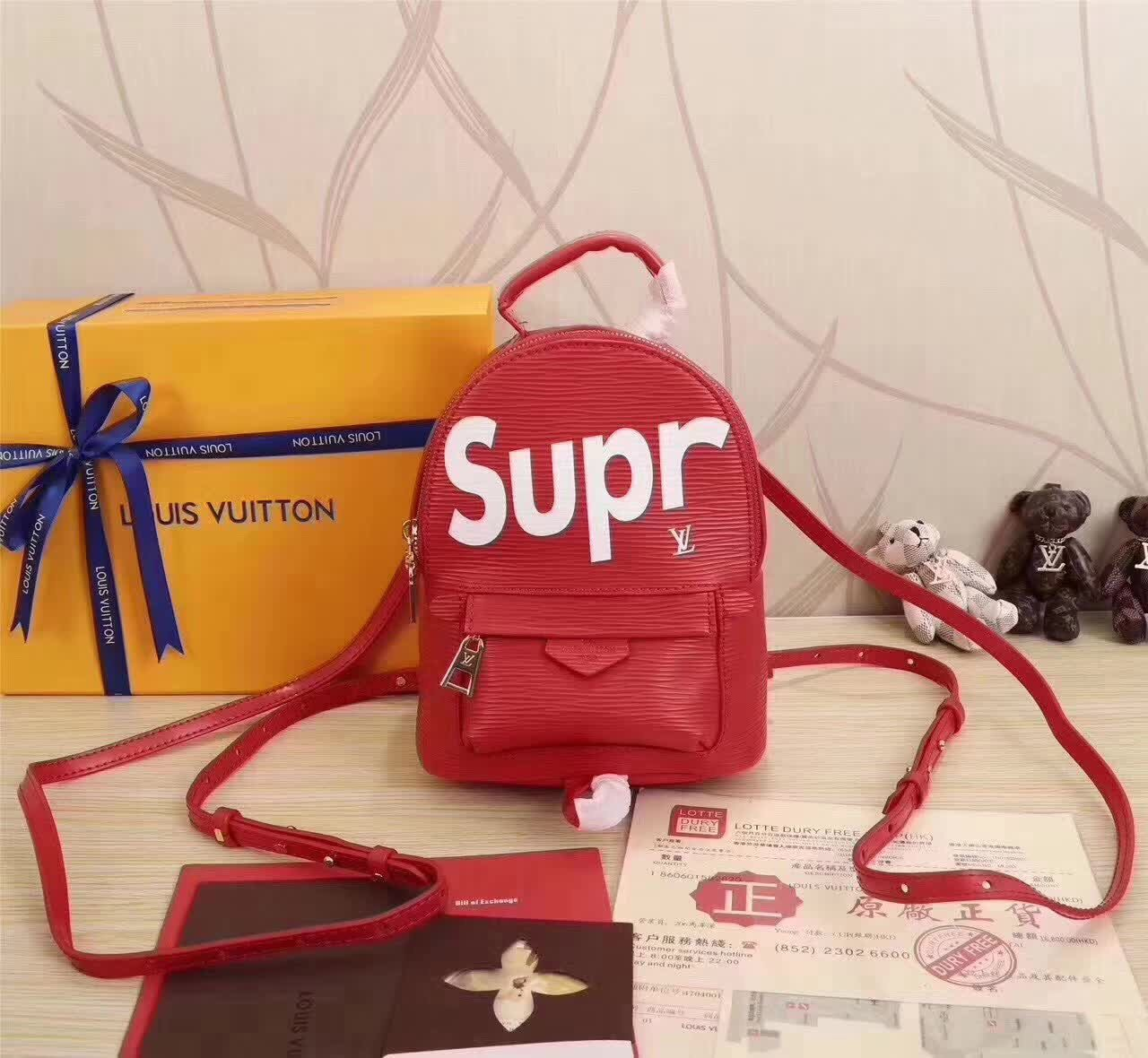 7d3cfe92963a5 LV SUPREME. LV SUPREME BAG Supreme Backpack ...