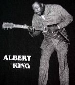 """Vintage Albert King t-shirt from 1998. Mint condition. No tag but it measures 26"""" across and 29"""" long, which usually means an XL. This is a great, rare blues t-shirt."""