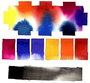 Gouache diffusion is so beautiful. | - daydreams ...