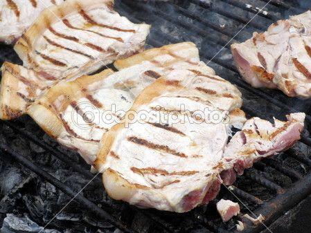 Pork on the grill | Foto Stock © Marco Arata #14399815