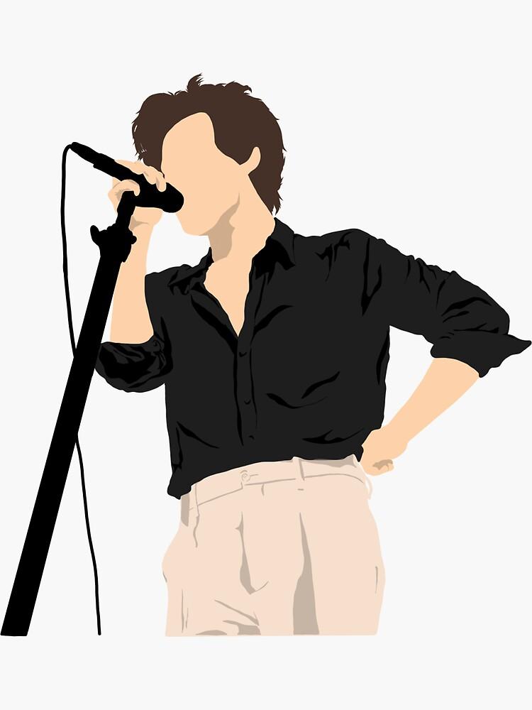 Houston Sticker By Eversinceny Redbubble Harry Styles Drawing Harry Styles Harry Styles Concert