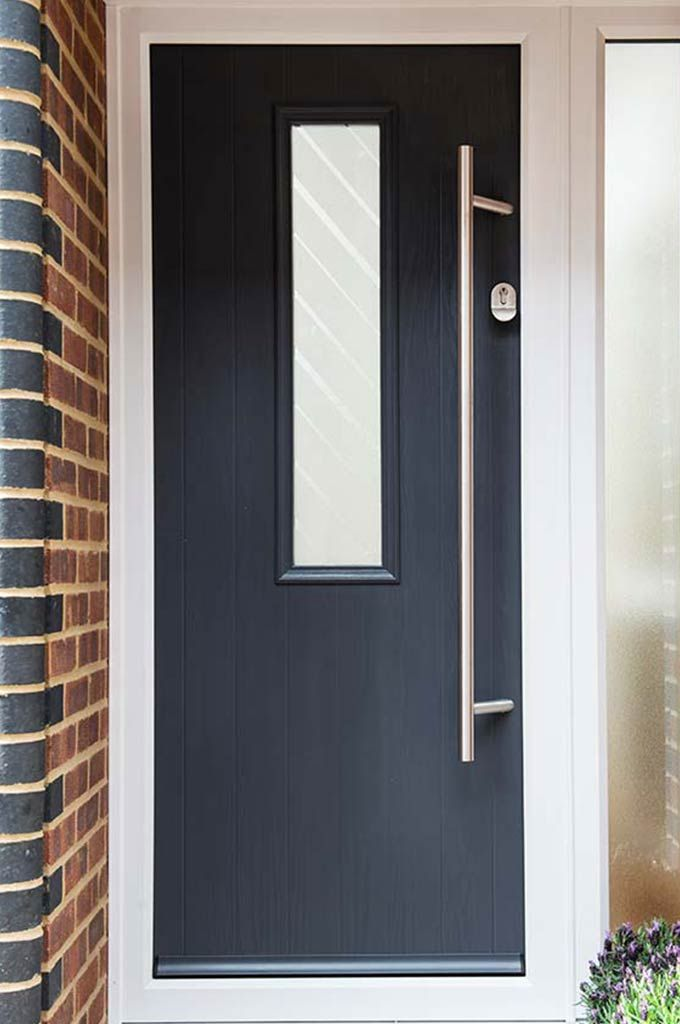 Composite Contemporary Front and Back Doors Gallery | Everest ...
