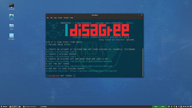Idisagree Control Remote Computers Using Discord Bot Computer Diy Hacking Websites Computer
