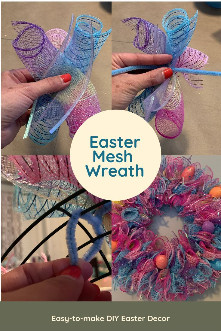 Photo of If you haven't made one of these mesh wreaths yet, you'll have to give it a try….