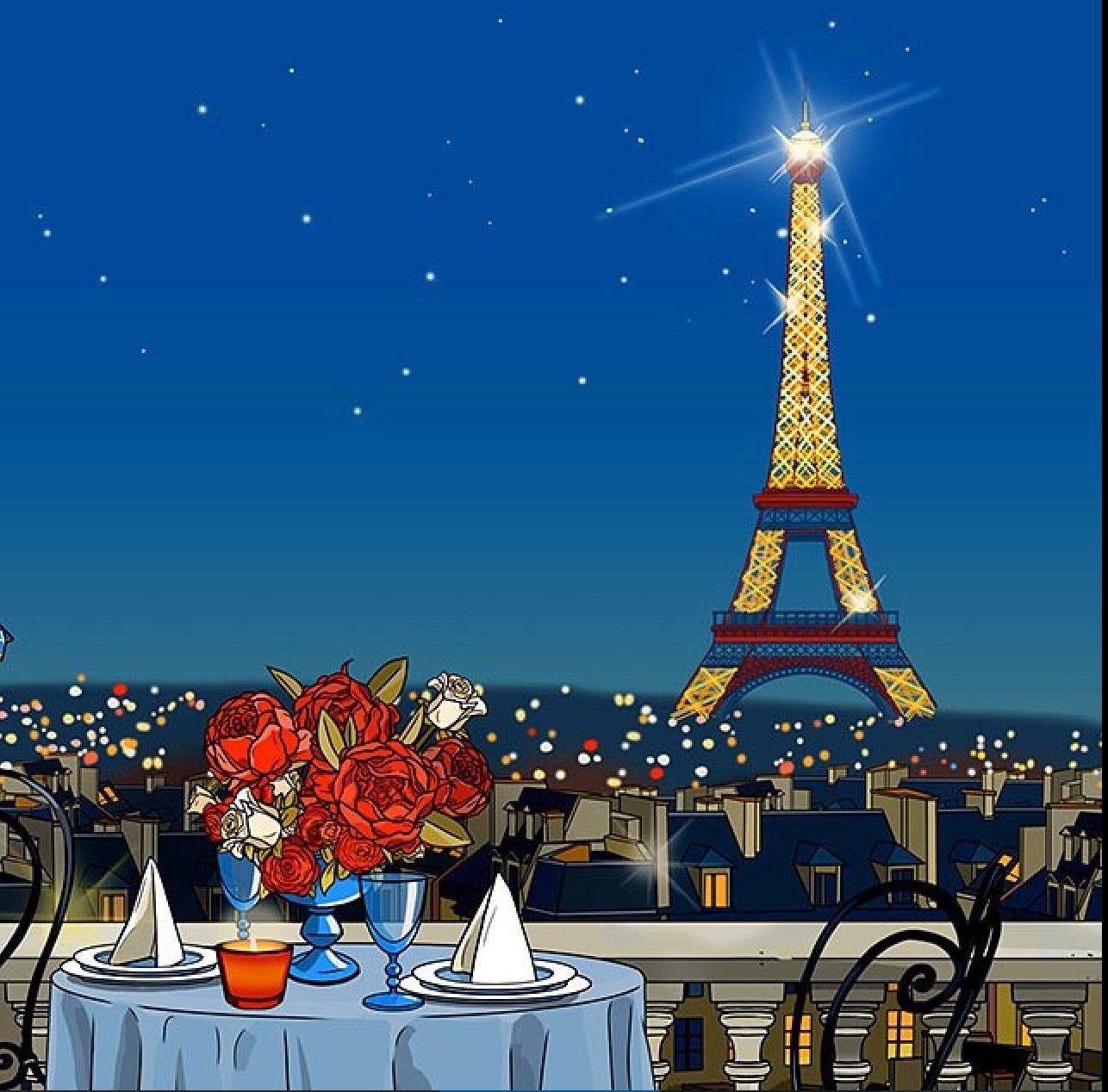 Love This Paris Illustration By Lazarevaillustration