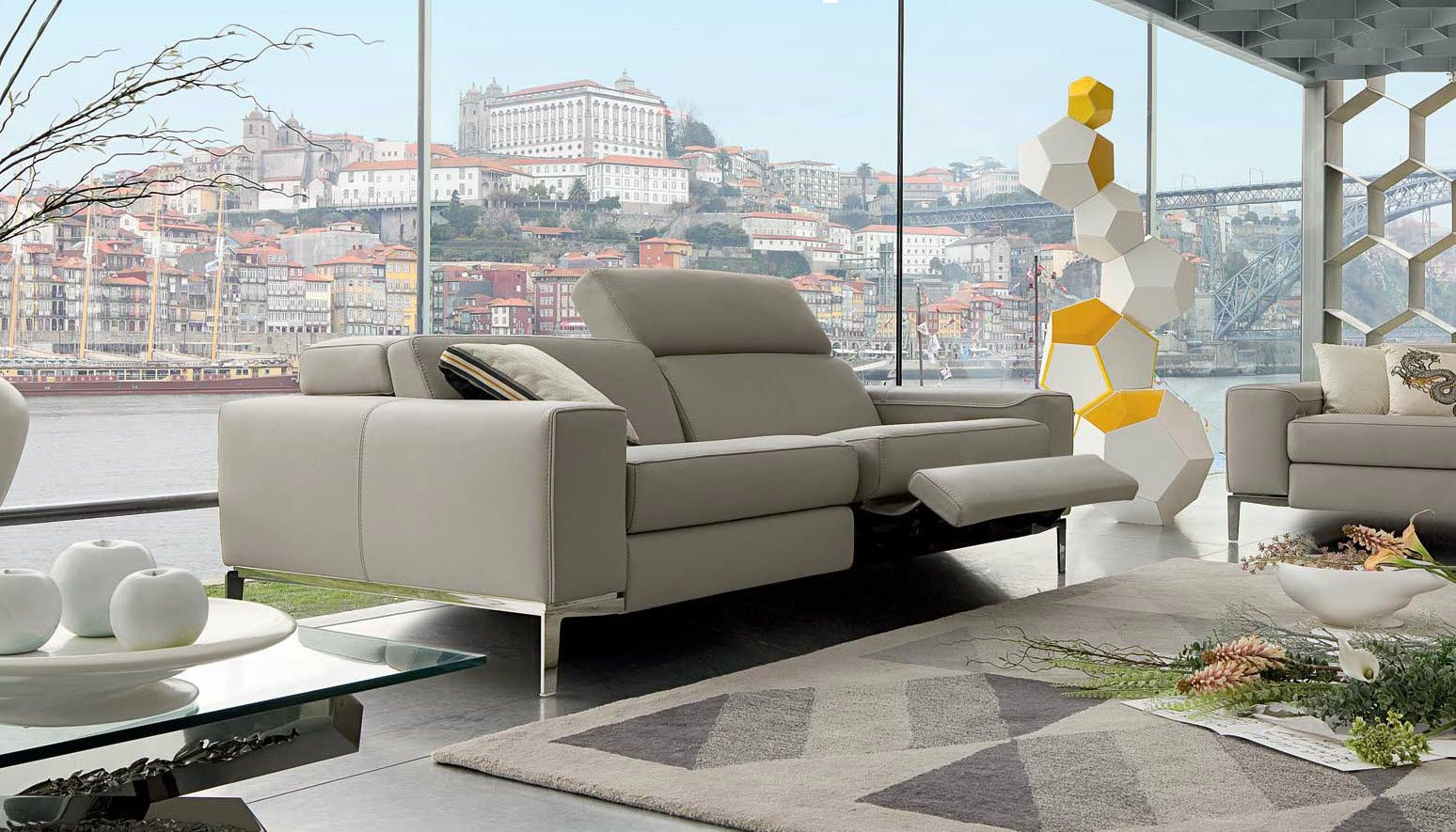 French designer furniture company Roche Bobois celebrates 50 years as the unparalleled international leader in high end design. : designer reclining sofa - islam-shia.org