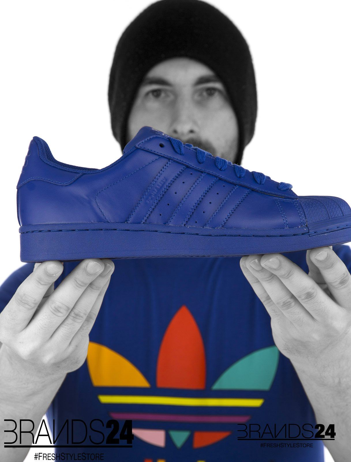 Adidas Pharrell Supercolor Audace Azul