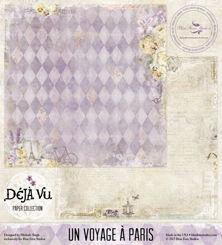 Deja Vu Blue Fern Studios New Collection With Images Blue
