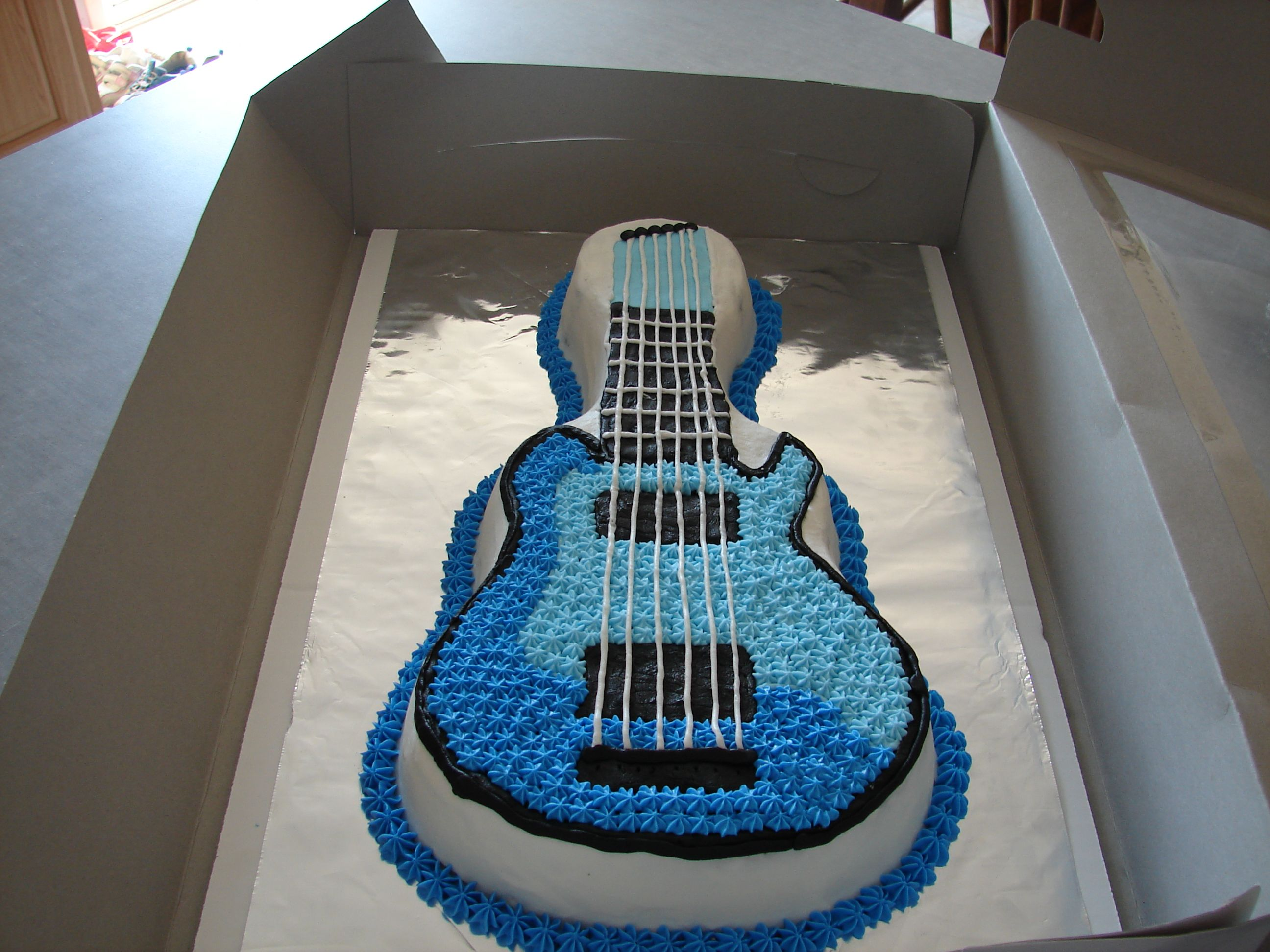 Guitar Cake Cakes I Made Cake 10 Birthday Cake