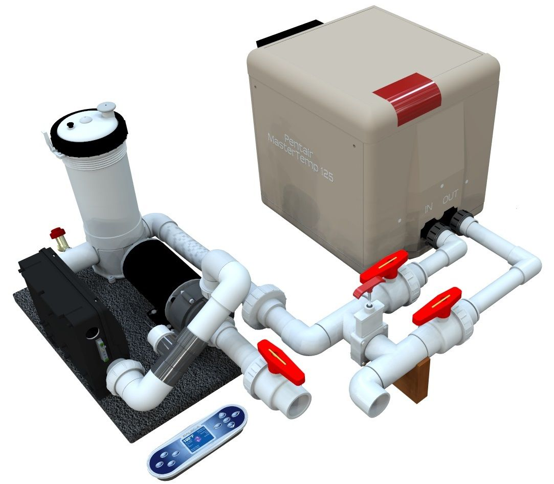 Gas Hot Tub Heating Systems