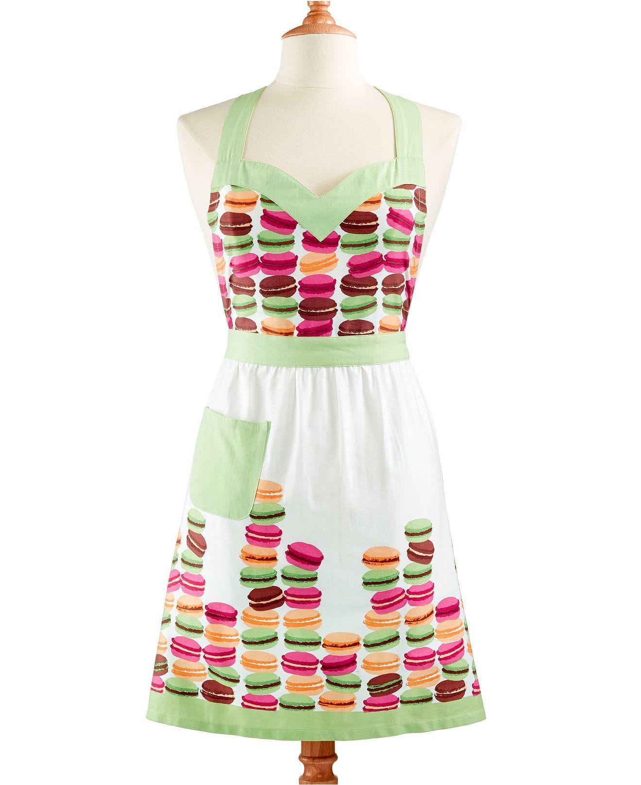 White apron macy's - Martha Stewart Collection Macaron Apron Kitchen Gadgets Kitchen Macy S