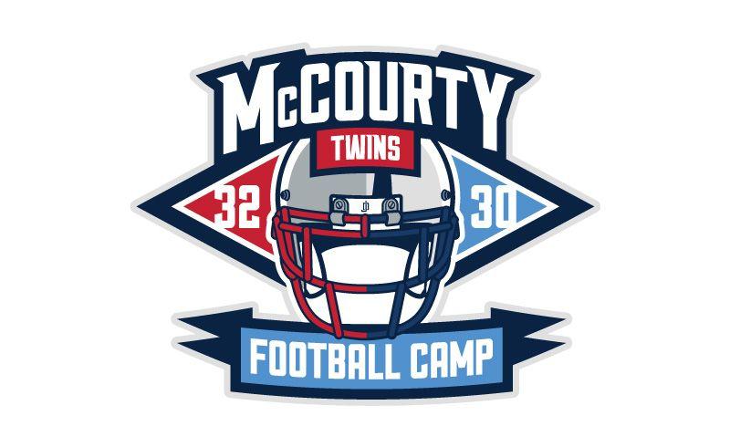 Mccourty Twins Football Camp Football Camp Football Camp Logo