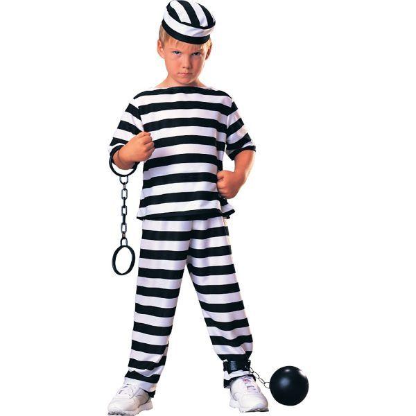 Boys Escaped Prisoner Costume