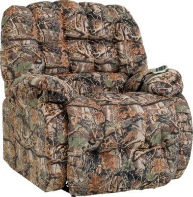 Cabelas The Beast Camouflage Power-Lift Recliner | Home & Cabin ...