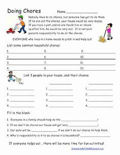 image relating to Free Printable Life Skills Worksheets identified as Pin upon Different Dwelling