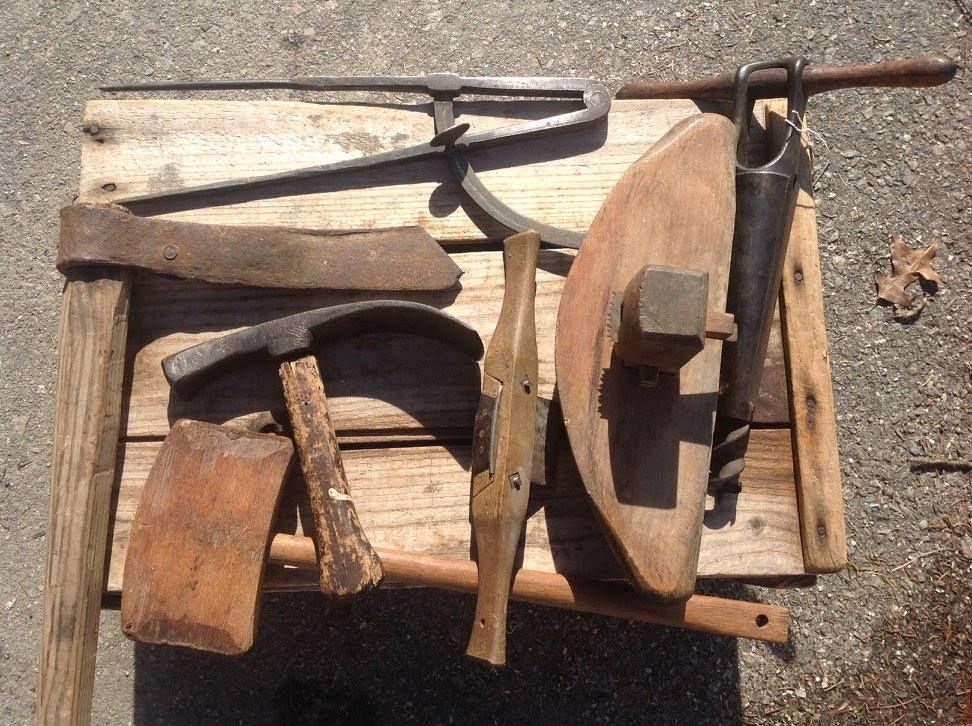 Coopers Tools The Calipers On Top Are Very Early Blacksmith