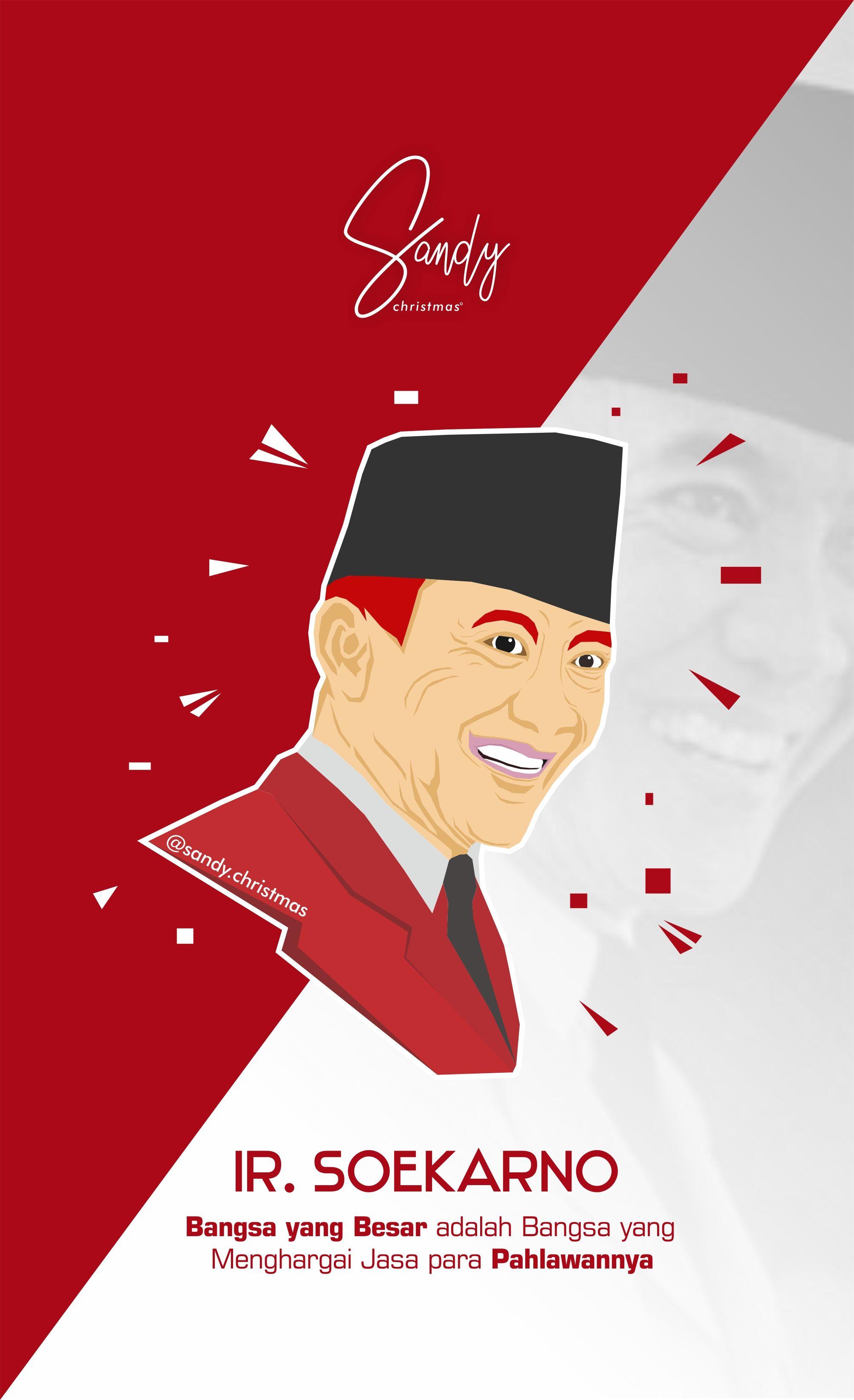 Gambar Tokoh Pahlawan Soekarno