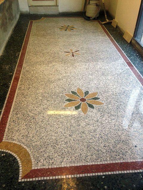 Terrazzo alla veneziana - Roma - Il ritorno | Terrazzo and Concrete
