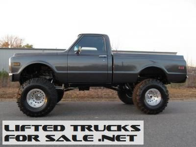 1971 Chevrolet C10 Custom Lifted Truck Lifted Chevy Trucks