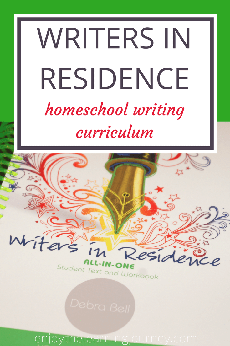 Writers In Residence Homeschool Writing Curriculum Language Arts