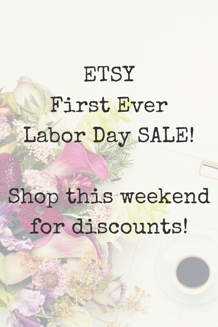 Etsy Is Having Their First Ever Labor Day Sale This Weekend Perfect