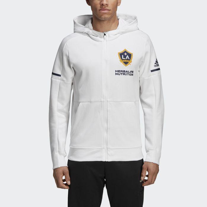 LA Galaxy Travel Jacket White 2XL Mens   Jackets, Types of
