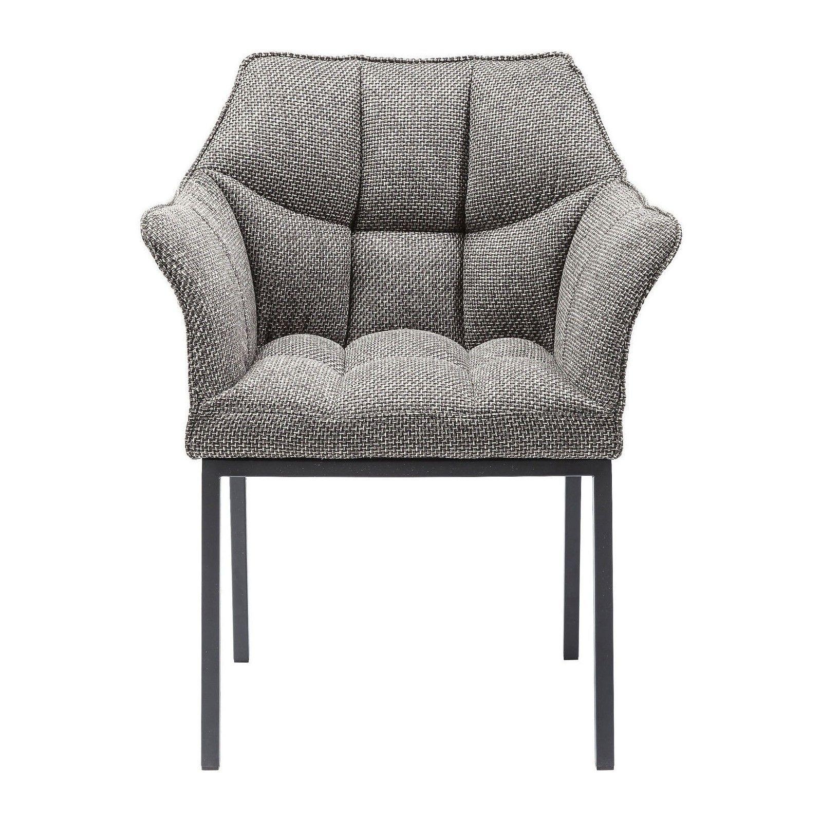 Chaise Moderne Grise Thinktank Kare Design Chaise Salle A Manger Fauteuil Salle A Manger Chaises De Table A Manger