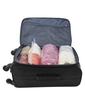 Woolite 4 Piece Air Hand Roll Vacuum Storage Bags In