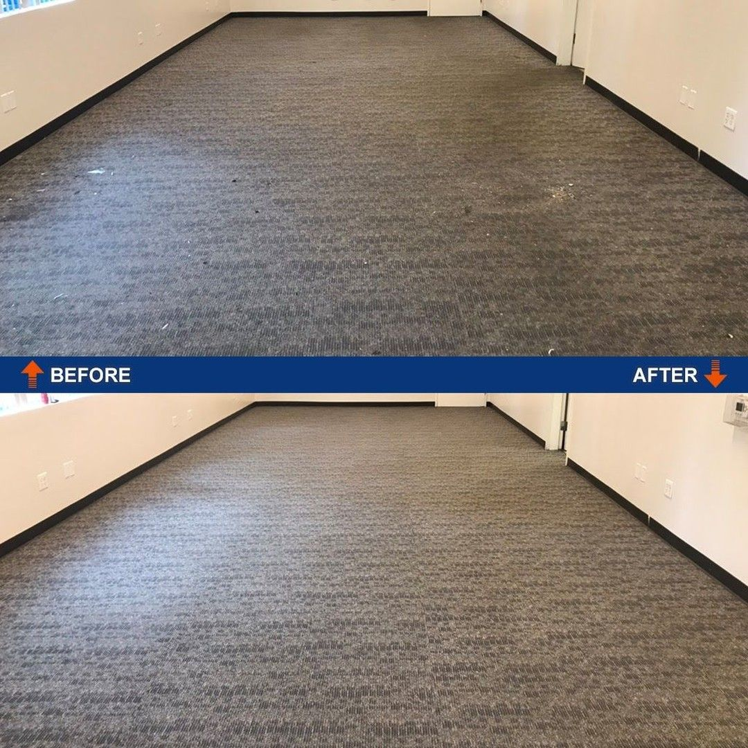 Vacuuming carpets only does so much. With #commercialcarpetcleaning you can get all the dirt and restore fibers all with a 1 hour drying time  #advancecleaningsystem #officecarpetcleaning #deepcleaning