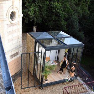 un cube dans mon jardin cabane mobil home pinterest cubes mon jardin et jardins. Black Bedroom Furniture Sets. Home Design Ideas