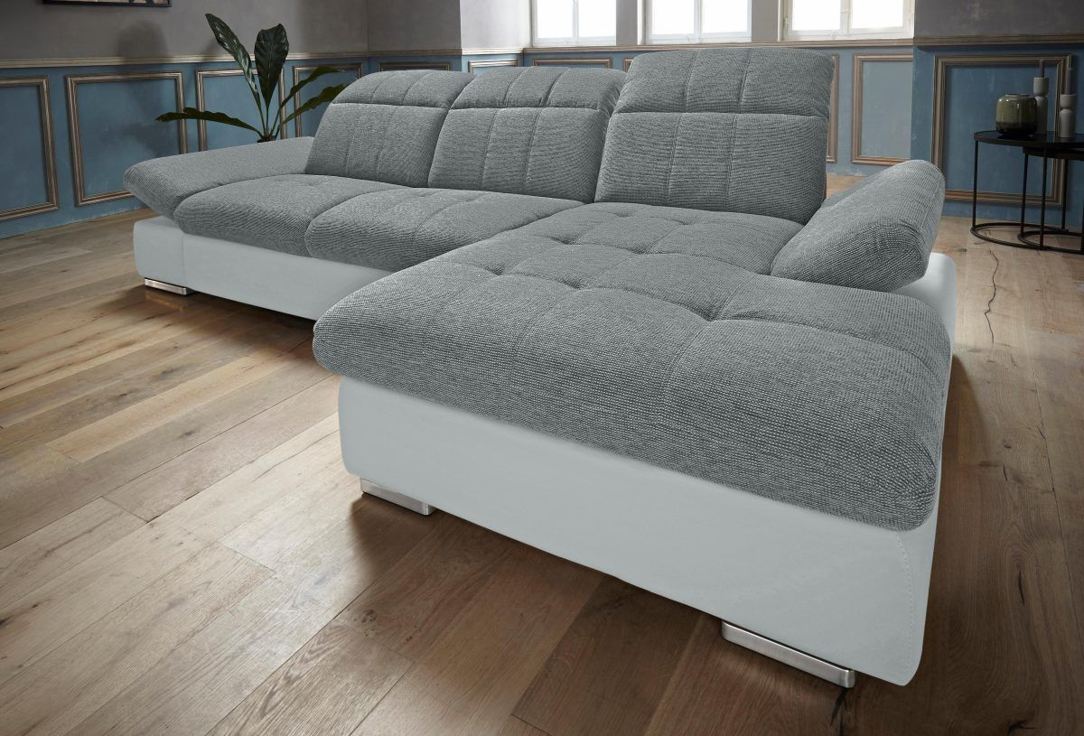 Brilliant Couch Relaxfunktion Sammlung Von Sitzecke Silber, Recamiere Rechts, Ive Relaxfunktion, Mit