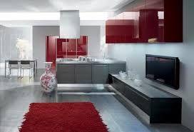 cucine americane moderne rosse - Google Search | Ideas para el hogar ...