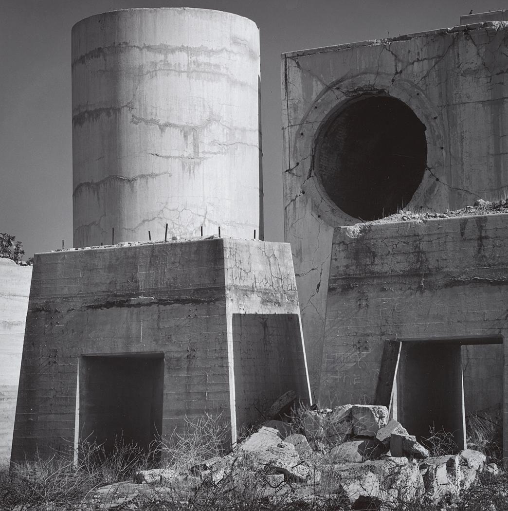 1969 Cement Plant Ruins Near Merced, California (near
