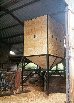 picture of a feed bin | Cattle Barn | Cattle farming ...