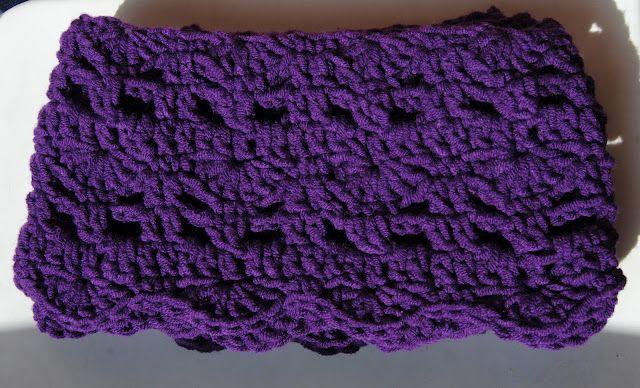 Una bufanda de ganxet