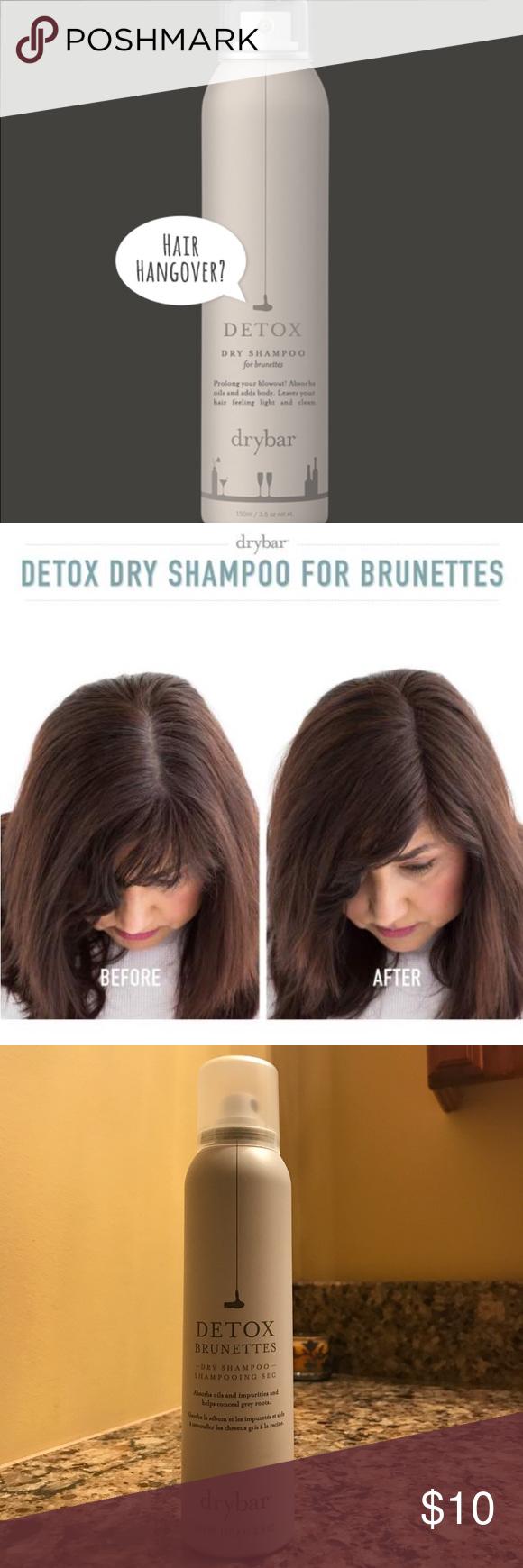 Detox Dry Shampoo For Brunettes Dry Shampoo Shampoo Brunette
