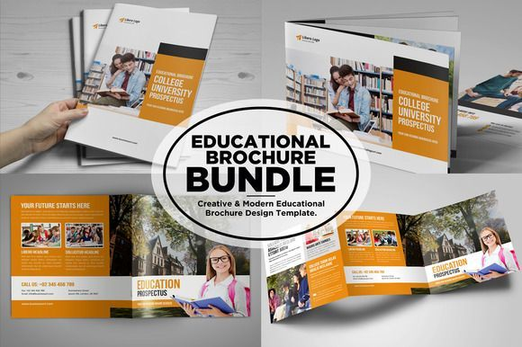 Nice College University Prospectus Bundle Creativework  Fonts