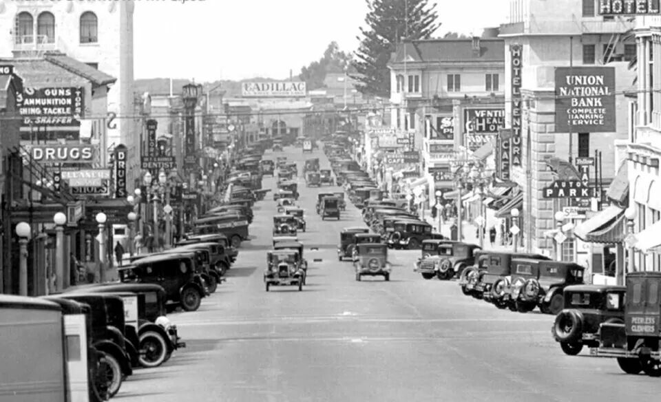 Historic Downtown Ventura Ventura california, Ventura