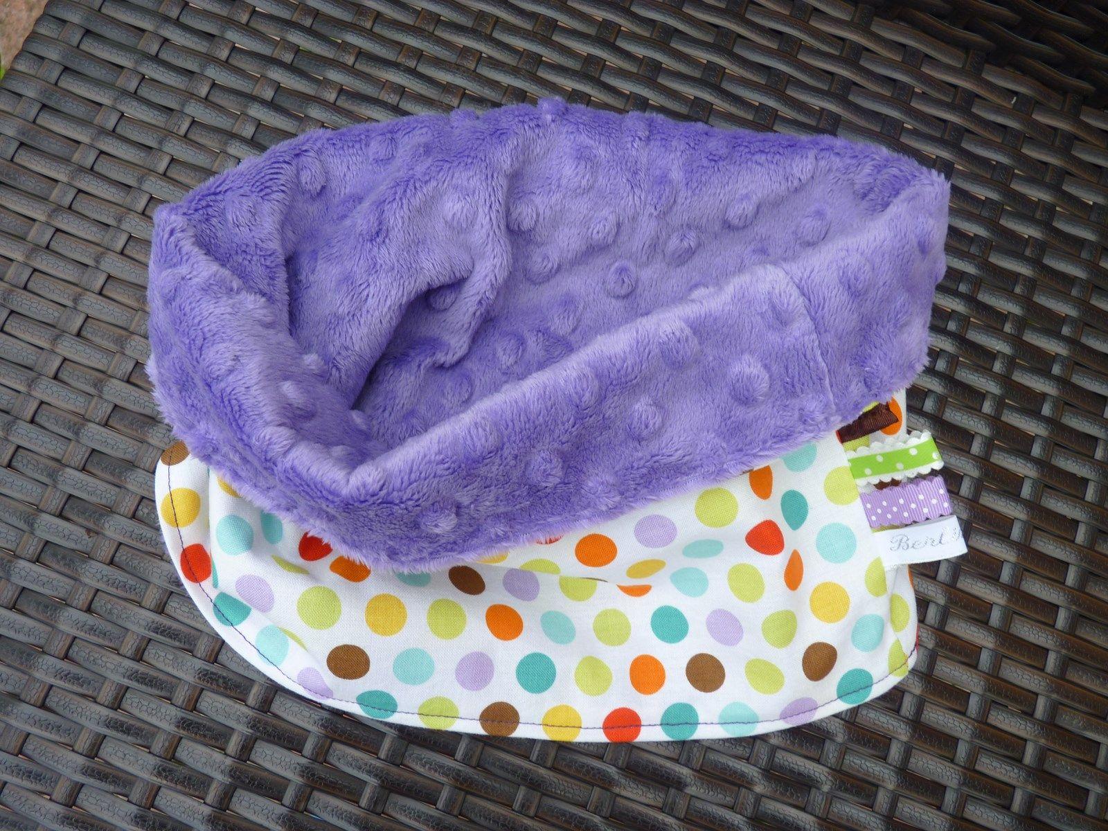 snood cache cou enfant tout doux en coton imprim pois. Black Bedroom Furniture Sets. Home Design Ideas