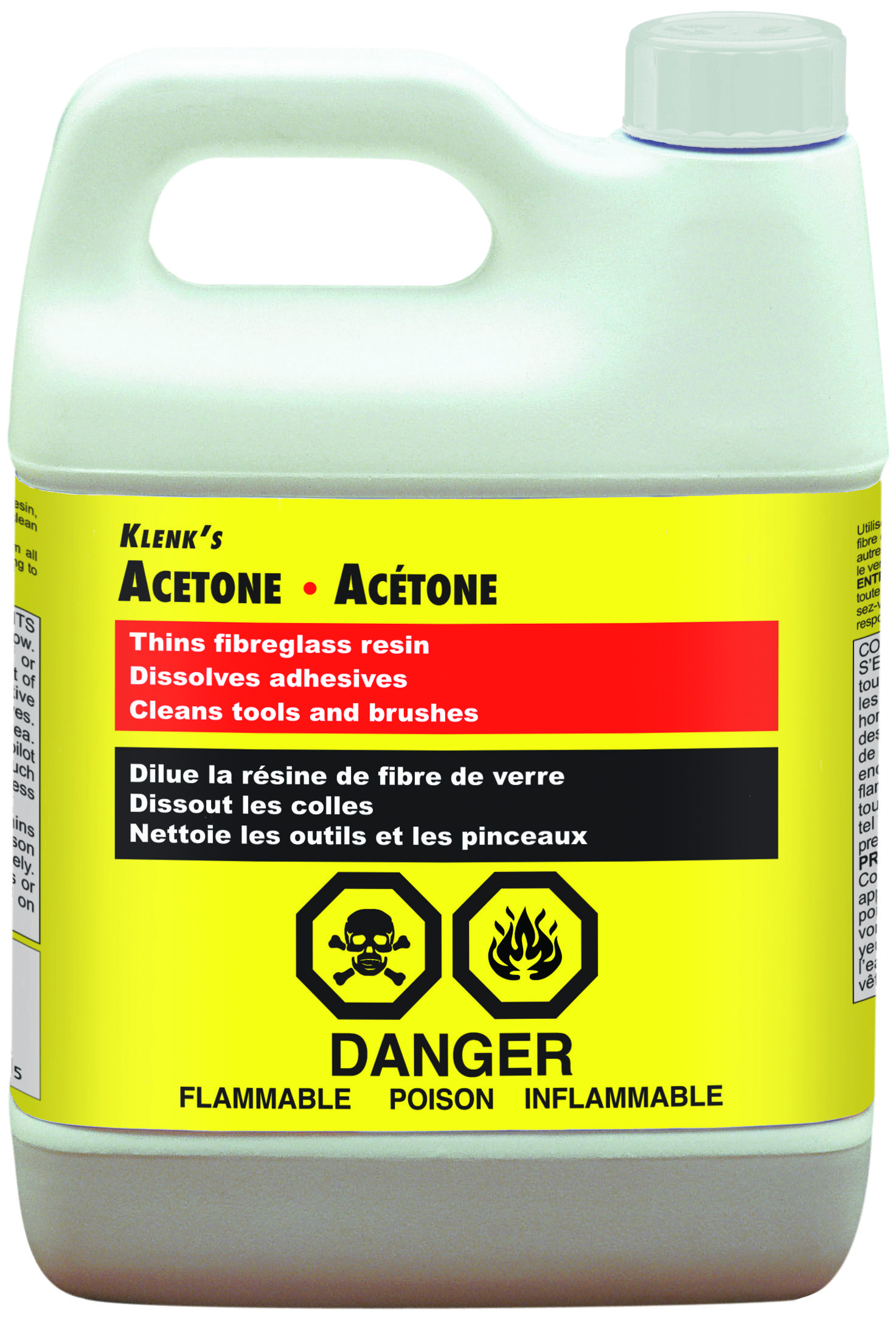 Acetone Paint Thinner : acetone, paint, thinner, Klenk's, Acetone, Thins, Fibreglass, Resins., Dissolve, Adhesives, Cleans, Tools, Brushes., Acetone,, Methylation,, Staining