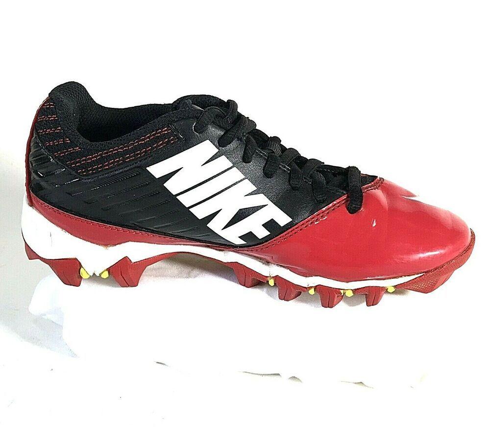 00260830d7b Nike Vapor Shark Volt Fastflex Kids Soccer Cleats Red Size 4.5Y EUC  Nike
