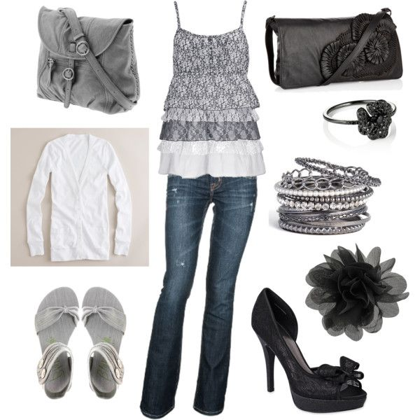 Noon to Night, created by abbygiddings on Polyvore