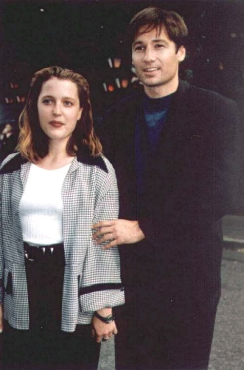 A very young Scully an...