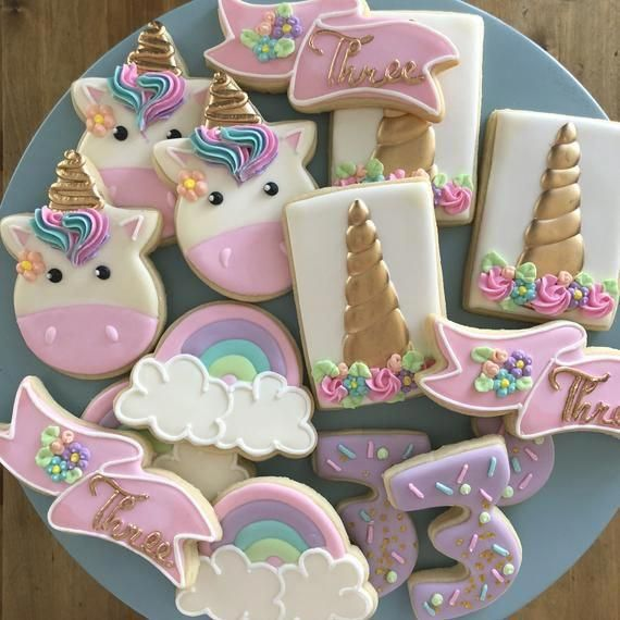 Photo of Unicorn Cookies, Birthday Cookies, Unicorn Birthday, Unicorns, Magical Birthday, Party Favors, Treat Bags, Unicorn Treats, Unicorn Desserts